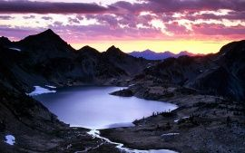 WALLPAPERS HD: Sunrise Upper Ice Lake Basin