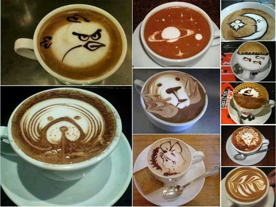 Coffee paintings...♡♥♡