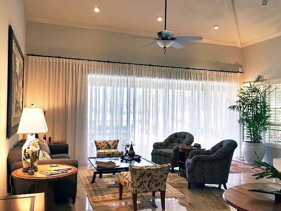 Living Room – Traversing Sheer Drapery | http://sarasotawindowtreatments.com/project/portfolio-2/: