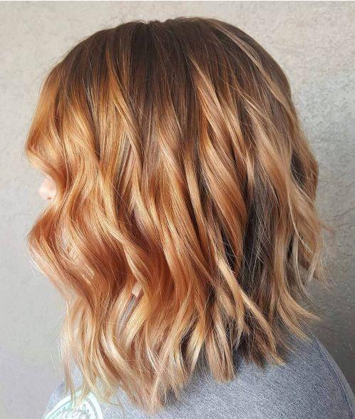 Frisuren Kurz Bob Frisur Rote Haare Mit Blonden Strahnen Haarfarben Frisur Rote Haare Haarschnitt