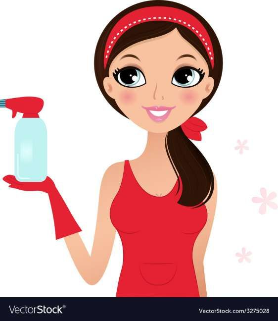 10 Cleaning Lady Vector Cartoon Illustration Cleaning Lady Illustration