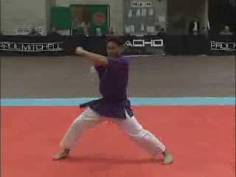 Marc Canonizado Kata 2008 Ocean State Grand Nationals Karate Tournament