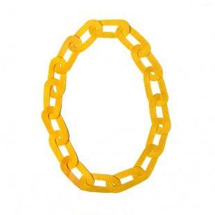 felt chain necklace