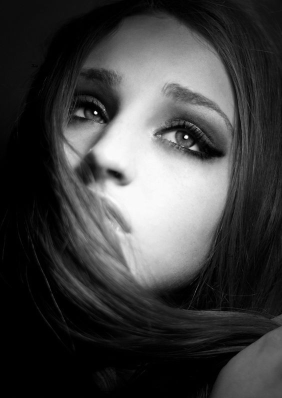 black and white photography - sad girl | Black & White ...