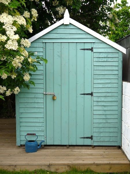 Pretty much determined to paint my future shed. This colour would be perfect.