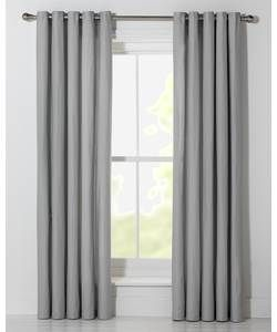 ColourMatch Lima Unlined Eyelet Curtains 229x229cm Dove Grey