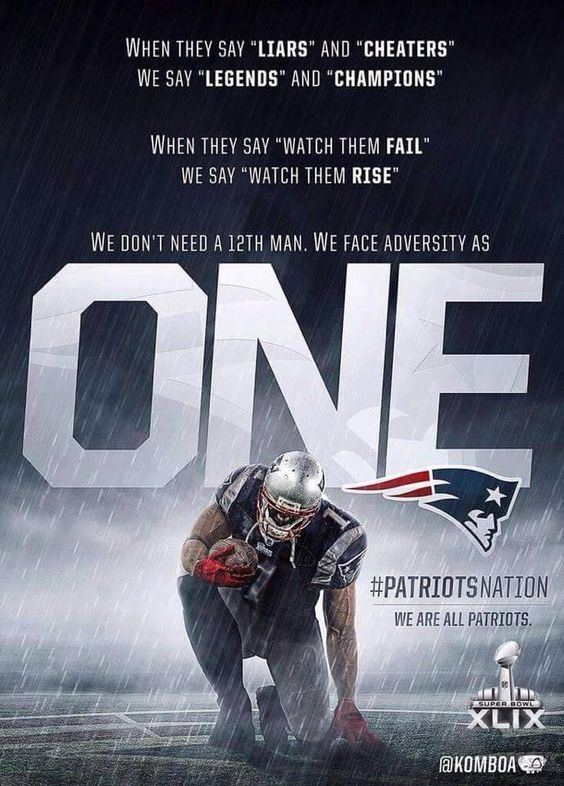 We are One...PATS Nation