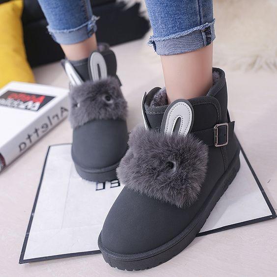 37.20$  Watch now - https://alitems.com/g/1e8d114494b01f4c715516525dc3e8/?i=5&ulp=https%3A%2F%2Fwww.aliexpress.com%2Fitem%2Ftest%2F32784213981.html - 2016 Ankle Rabbit Ugs Women Australia Boots Cheap Ladies Ugc Snowboots Snow Moccasin Fur Ankle Winter Boots Designer Botas