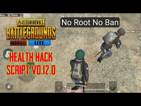 Pubg Mobile Lite Health Hack Script V0 12 0 No Root No Ban Android Device Health Tips Download Hacks Health