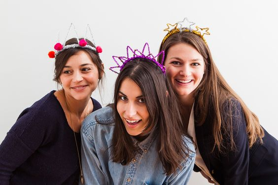 DIY Basics: Pipe Cleaner Party Crowns for New Year's Eve via Brit + Co.