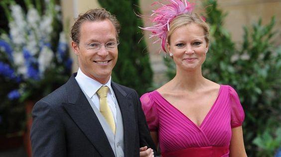 Prinzessin Carolina und Bruder Prinz Jaime von Bourbon-Parma