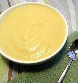 The Salty Kitchen: Creamy Cauliflower Soup