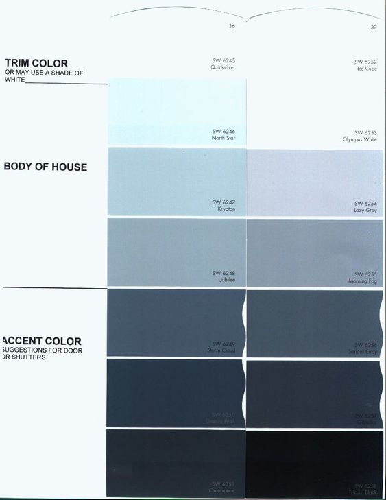 Sherwin williams morning fog exterior color of house - Sherwin williams exterior paint colors chart ...