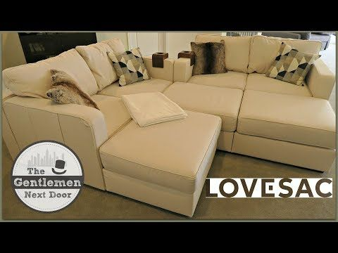 Lovesac Sactionals Unboxing Assembling Review The