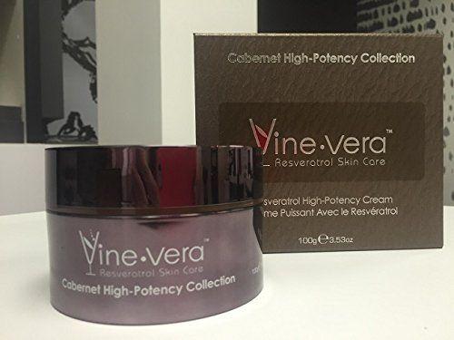 Vine Vera Resveratrol Highpotency Cream Cabernet Collection 100 Grams 4 53 Oz Check This Awesome Product By G Vine Vera Resveratrol Resveratrol Facial Masks