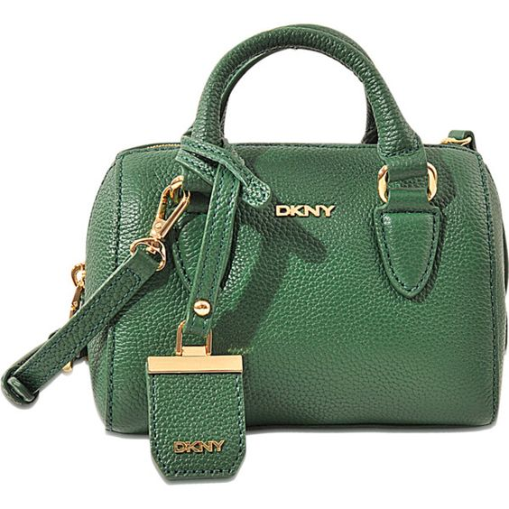 DKNY Chelsea City Zip Mini Round satchel bag ($215) ❤ liked on ...