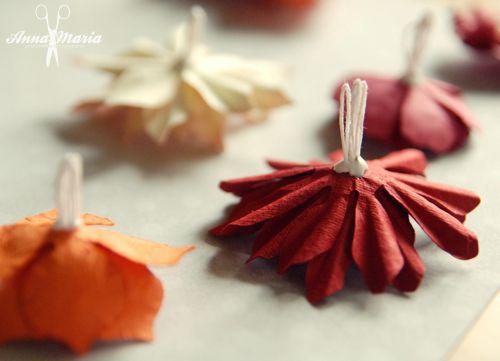 Kwiatki Z Papieru Kurs Jak Wykonac