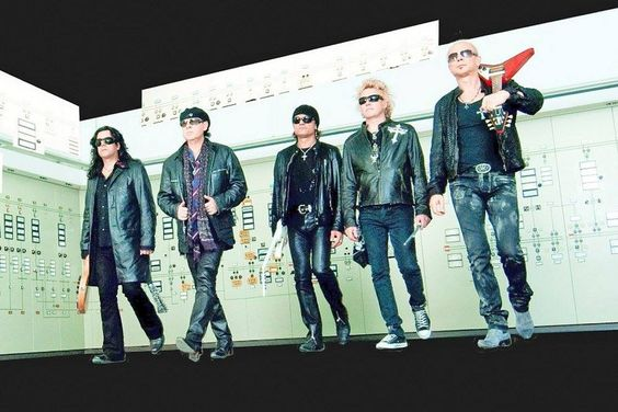 Klaus Meine, Rudolf Schenker, Matthias Jabs, James Kottak, Pawel Maciwoda. Scorpions.