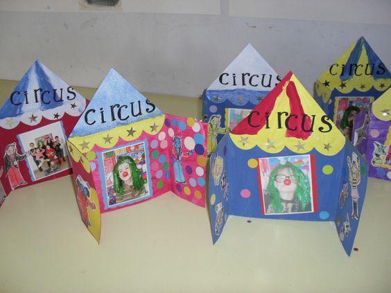 Ce site propose plusieurs idées de bricolages en lien avec le thème du cirque...