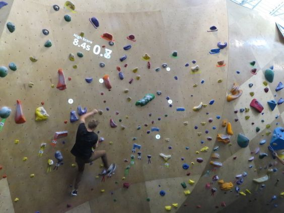 Look At This Interactive Rock Climbing Video Game