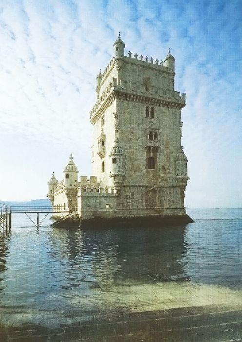 Torre de Belém, Lisbon, Portugal    via architecturalatmosphere : ysvoice : pitchercries