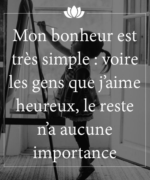 Simple couple and bonheur on pinterest for Tu est le miroir de ma vie