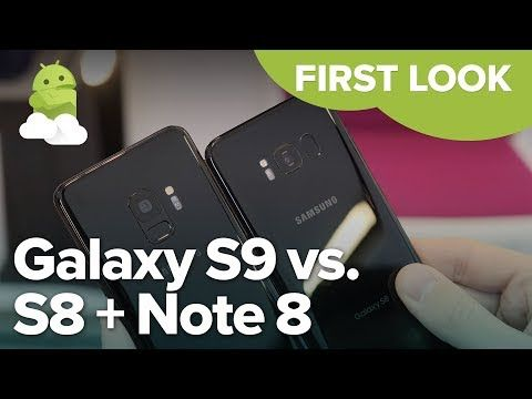 Galaxy S9 Vs Galaxy Note 8 Which Should You Buy Android Central Galaxy Samsung Galaxy S9 Note 8