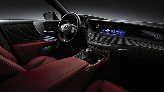 2019 Lexus Ls 500 Interior Lexus Ls Lexus Luxury Sedan