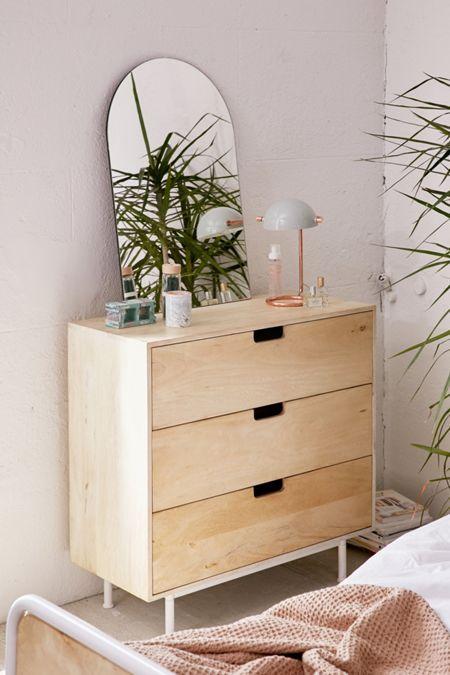 Cleo 3 Drawer Dresser Chambre A Coucher Appartement Bordeaux Chambre Enfant