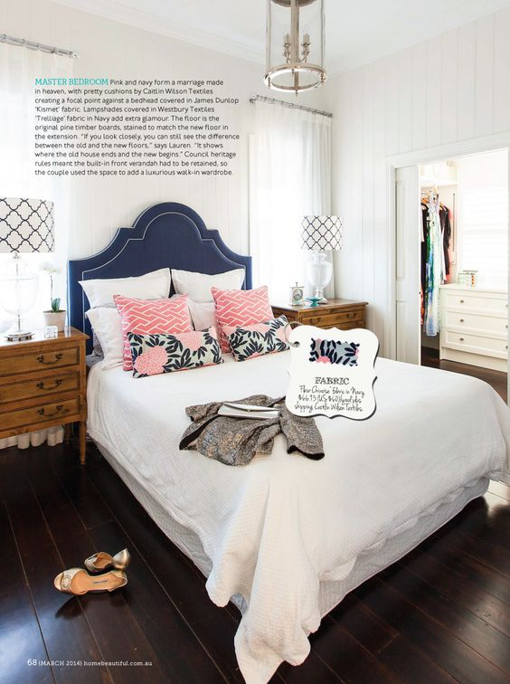 navy pink bedroom decorating with navy and white beautiful maze and 12685