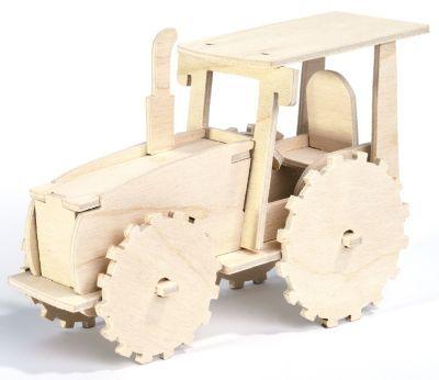 Holzbausatz+Traktor,+15,5+x+11+cm € 2,95
