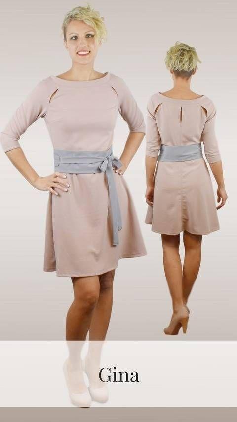 Gina Shirt Kleid 32 52 Bei Makerist Sofort Runterladen Kleider Modestil Kleidung