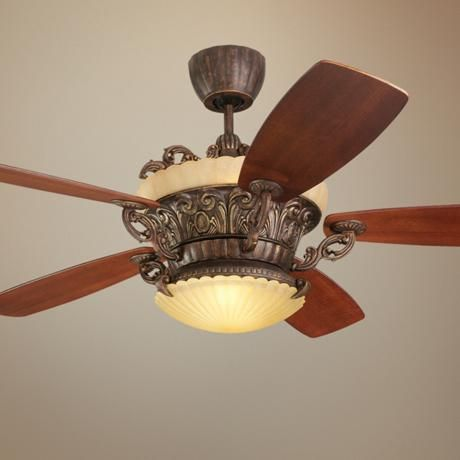 56 Quot Monte Carlo Strasburg Tuscan Bronze Ceiling Fan