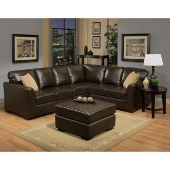Leather Ottomans and Costco on Pinterest