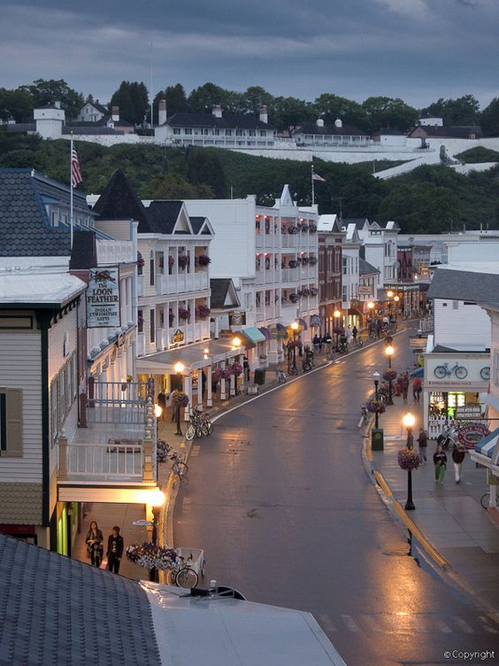 Mackinac Island, Michigan: