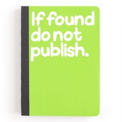 If Found Do Not Publish Notebook