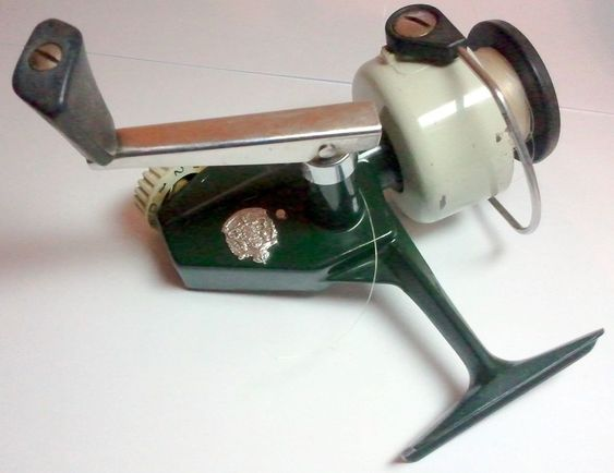 vintage zebco cardinal 4 fishing reel in very good used condition, Reel Combo