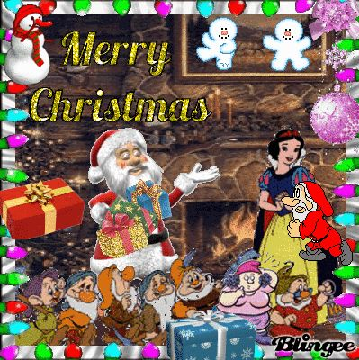 """""""Merry Christmas"""" (for the 7 Dwarf Group)"""