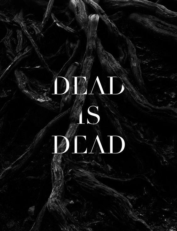 Dead is Dead fashion editorial!