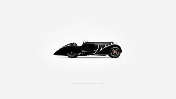 Vintage Photoshop Car