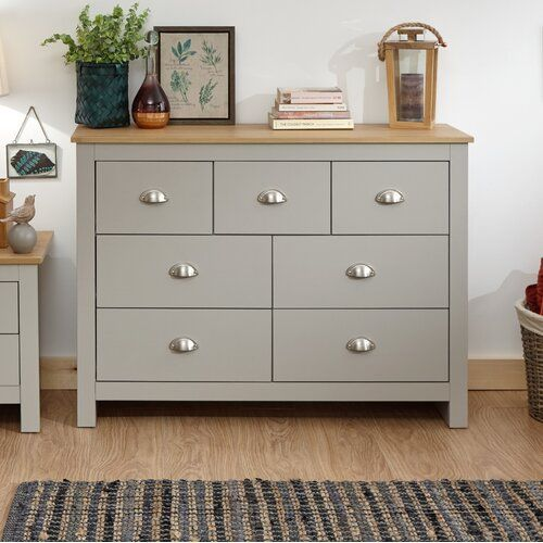 Loretta 3 Door Wardrobe Chest Of Drawers Modern Bedroom