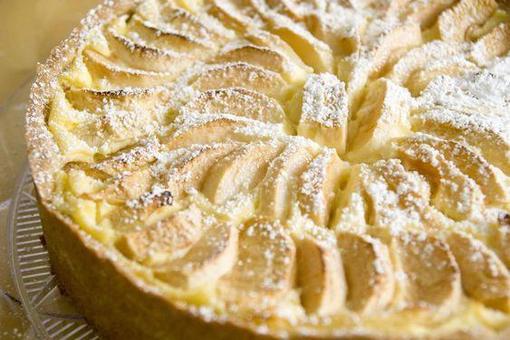 Schmackhaftes Rezept Fur Apfelkuchen Mit Pudding Und Schmand Rezept In 2020 Apfelkuchen Mit Pudding Apfelkuchen Rezept Apfelkuchen