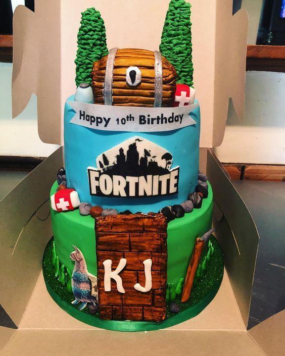 99 Fortnite Cake Ideas Fortnite Cake Fortnite Cake Ideas For Boys
