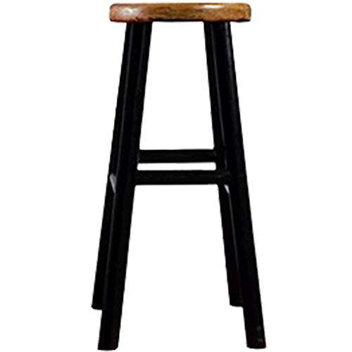 Surprising Round Wooden Leg Bar Chair Dining Stool High Stool Kitchen Forskolin Free Trial Chair Design Images Forskolin Free Trialorg