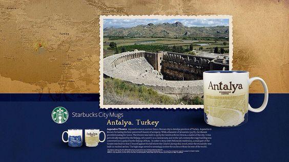 starbucks city mug Antalya