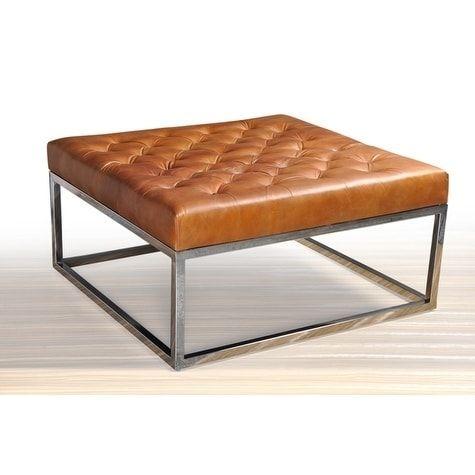 Enjoyable Club Square Ottoman Coffe Table Brown Products In 2019 Inzonedesignstudio Interior Chair Design Inzonedesignstudiocom