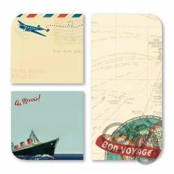 Haftnotizzettel Bon voyage