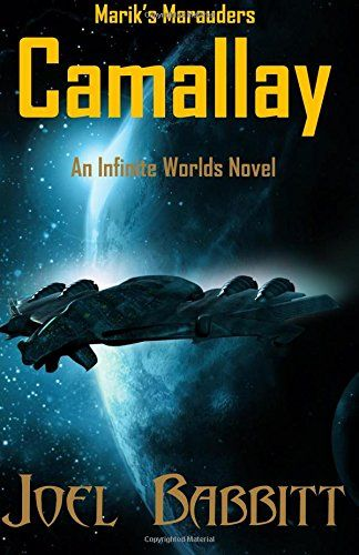 Camallay: An Infinite Worlds Novel  Joel Babbit is a self-published author who shares a similar taste in fantasy/sci-fi.  This is the first book in his new Infinite Worlds.  You should check him out!
