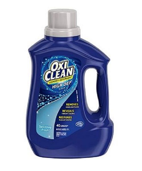 Oxiclean Hd Laundry Detergent Sparkling Fresh 60 Oz Laundry