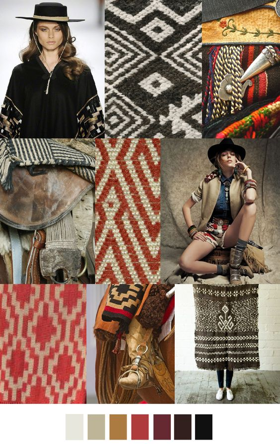 great knitwear ideas | GAUCHO STYLE - TRENDS A/W 16/17. For more follow www.pinterest.com/ninayay and stay positively #inspired